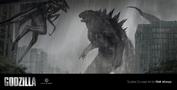 Concept art - Godzilla 2014 - Godzilla vs. MUTO 1