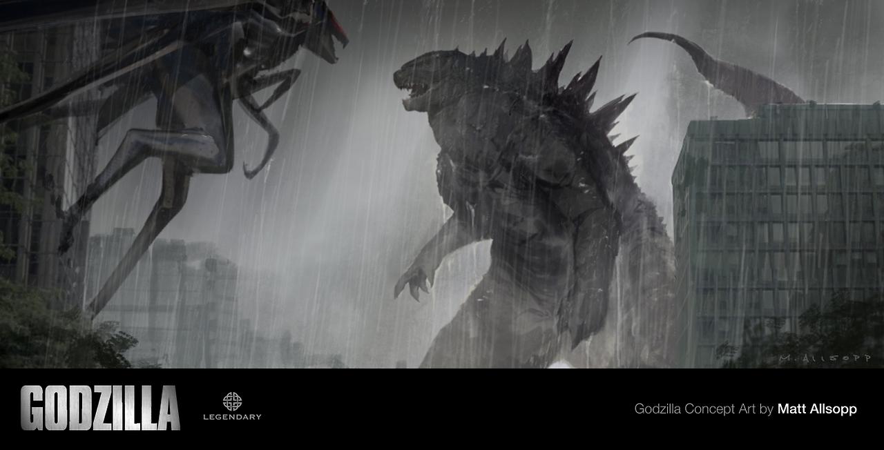 Dibujos Godzilla Raids Again 1955 Para Colorear: Godzilla Vs. MUTO 1