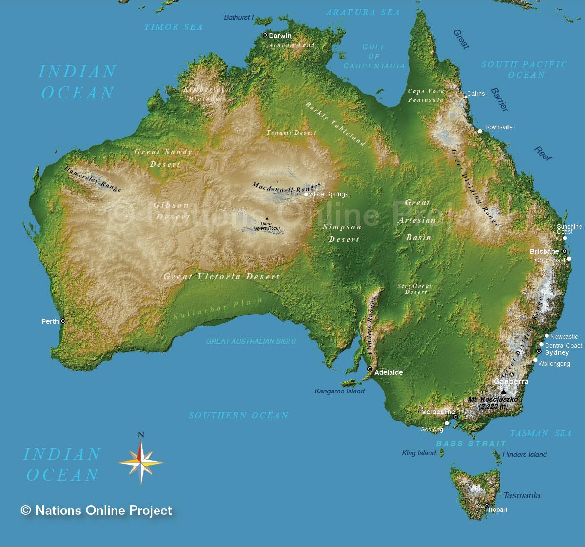 Image - Map of Australia.jpg | Gojipedia | FANDOM powered by Wikia