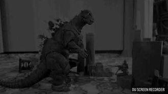 Godzilla attack on Tokyo in 1954