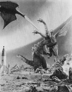 IOAM - Godzilla and Rodan vs. King Ghidorah Poster Shot