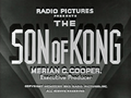 Son Of Kong Title Card
