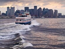 Godzilla Films Boston City