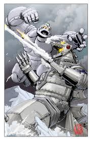 Mechani Kong vs MechaGodzilla 1
