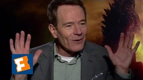 Exclusive Why Does Bryan Cranston Hate Godzilla?! FandangoMovies