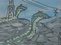 Gamera vs. Garasharp Storyboard 7