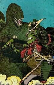 Godzilla vs Gekido-Jin 03