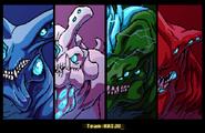 Team kaiju by astrozerk-d6pcjfh