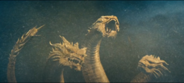 King Ghidorah the rattle snake