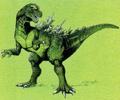 Concept Art - Godzilla vs. Destoroyah - Godzilla Junior 17