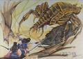 Concept Art - Yamato Takeru - Spider Kumasogami 2
