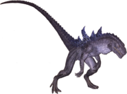 Godzilla (Gojira) TS transparent 2