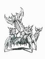 Concept Art - Godzilla vs. Destoroyah - Destoroyah Aggregate 3