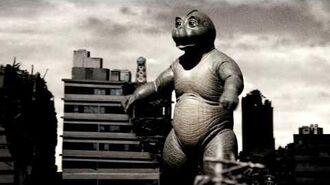 Minilla Roars (Godzilla- Final Wars