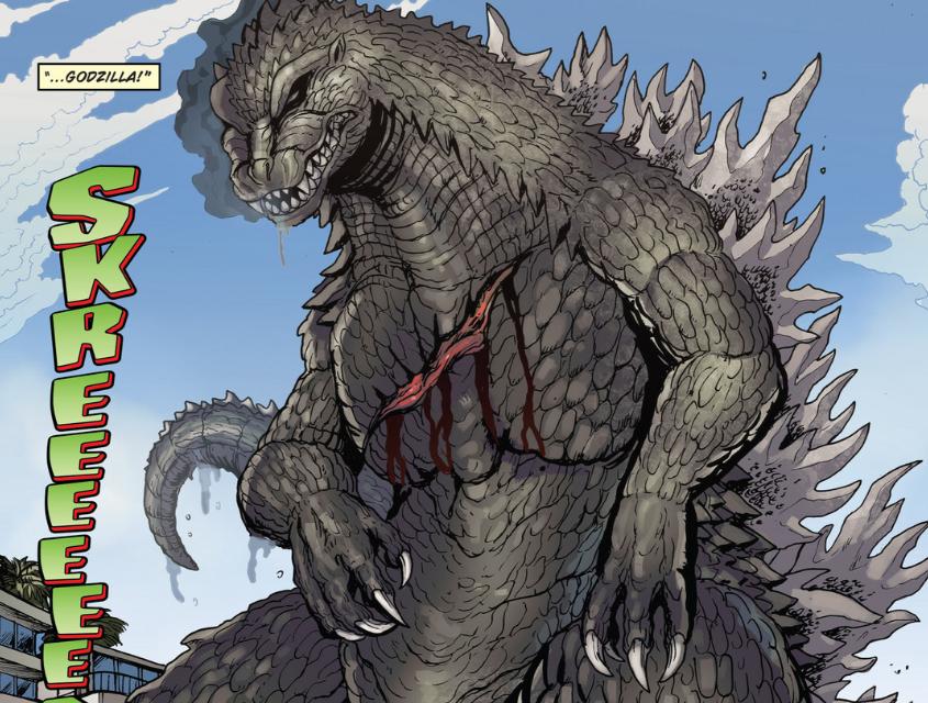Dibujos Godzilla Raids Again 1955 Para Colorear: Image - RULERS OF EARTH Issue 3 - 10.png