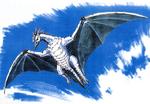 Concept Art - Godzilla vs. MechaGodzilla 2 - Rodan 3