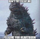 Godzilla, to Orga