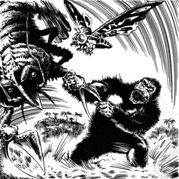 King Kong vs the Sea Monster