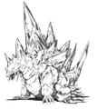 Concept Art - Godzilla vs. SpaceGodzilla - SpaceGodzilla 2