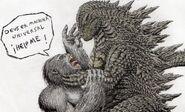Godzilla vs king kong obvious reality by mrgodzillajodedor-d99m0ph