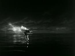 Bingo Maru shortly before being blown up by Godzilla