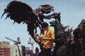 GXM - Godzilla, Megaguirus and Two People