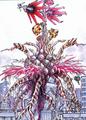 Concept Art - Godzilla vs. Biollante - Biollante Rose 9