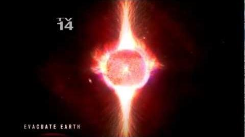A Neutron Star Collision with Earth