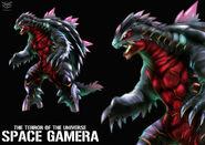 Space gamera by ohmega18-d81m6jq