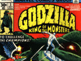 Godzilla, King of the Monsters (Marvel) Issue 3
