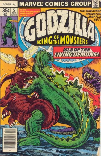 Godzilla King Of The Monsters Marvel Issue 5