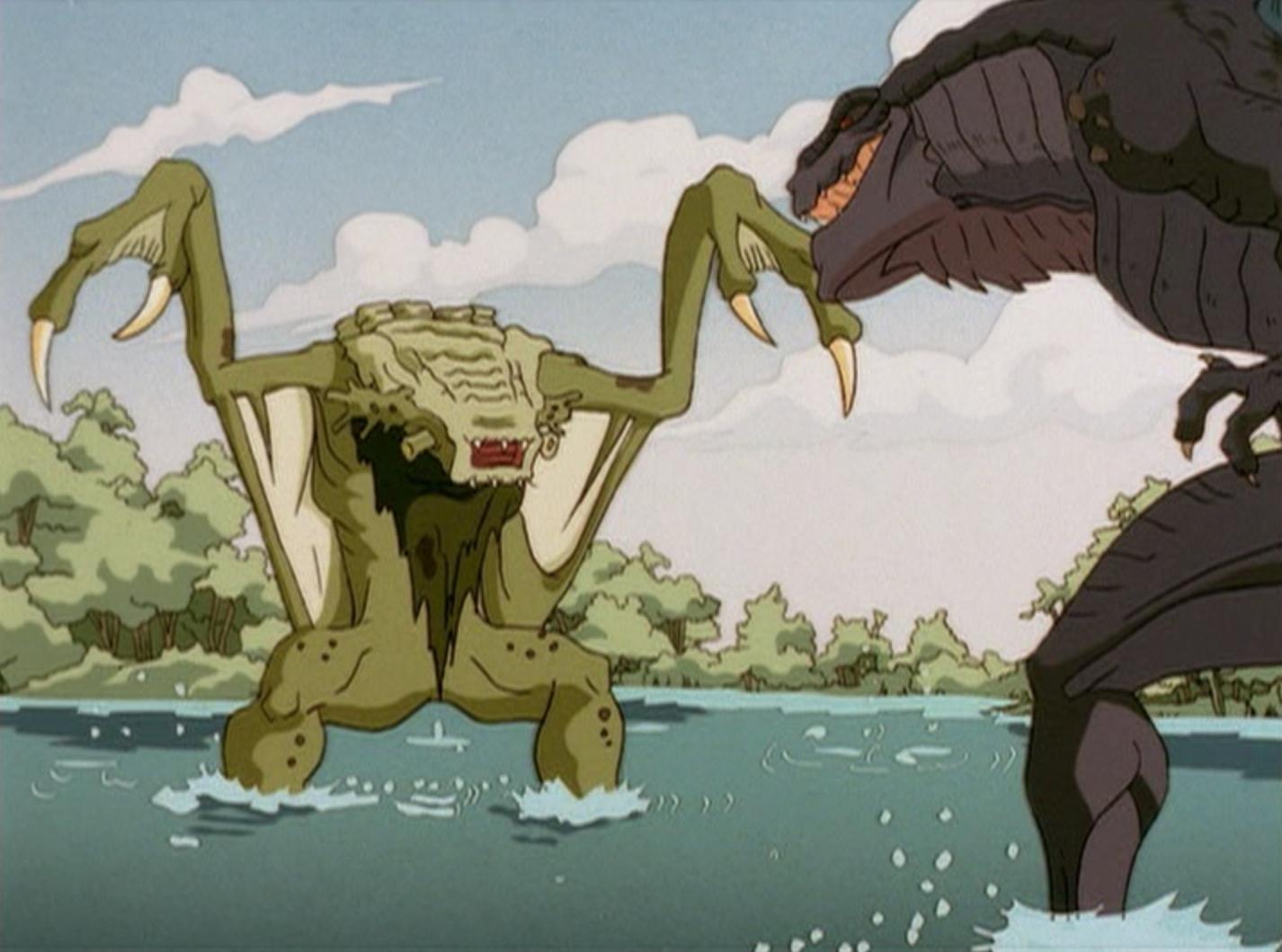 Godzilla Junior ゴジラジュニア Gojira Jyunia also known as Baby Godzilla ベビーゴジラ Bebīgojira and Little Godzilla リトルゴジラ