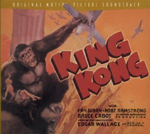 King Kong 1933 Soundtrack Cover