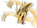 Concept Art - Godzilla vs. King Ghidorah - King Ghidorah 1