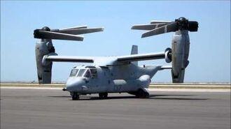 The transforming MV-22 Osprey