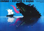 Ebirah, Horror of the Deep Poster Poland
