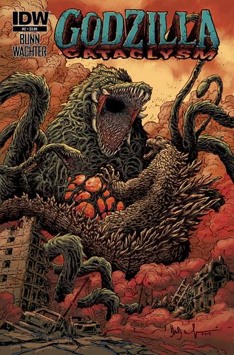 Godzilla Cataclysm Issue 2 CVR A