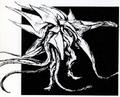 Concept Art - Godzilla vs. Biollante - Biollante 1
