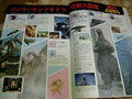 Godzilla VS King Ghidorah magazine