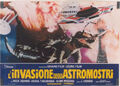 Invasion of Astro-Monster Lobby Card Italy 1