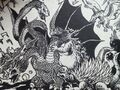 King Ghidorah Fight