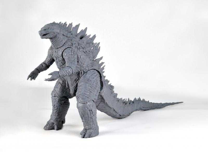 Dibujos Godzilla Raids Again 1955 Para Colorear: Image - NECA Godzilla 2014 Non-Painted 4.jpg