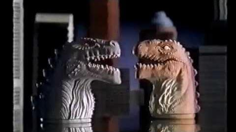1990s Godzilla Tie-In Ads. Australian KFC and Nestle Chocolate