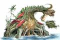 Concept Art - Godzilla vs. Biollante - Biollante 16