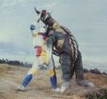 GVM- Jet Jaguar Lifts Gigan