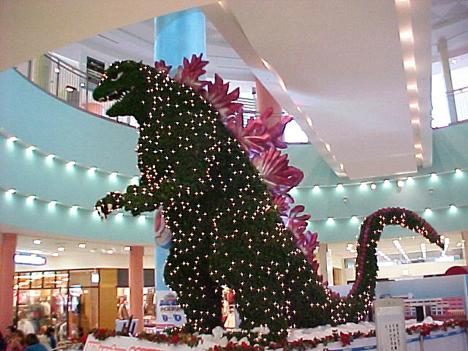 Godzilla 2000 Christmas Tree