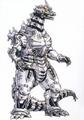 Concept Art - Godzilla Tokyo SOS - Kiryu 2