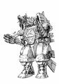 Concept Art - Godzilla Against MechaGodzilla - Kiryu 9