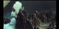 Godzilla continues to hide behind a rock