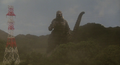 Godzilla reveals himself